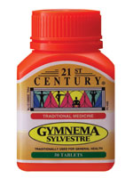GYMNEMA SYLVESTRE for carbohydrate control
