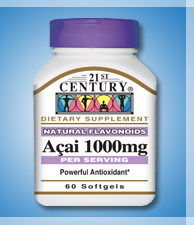 ACAI 1000MG 60softgels , Brazilian Weight Loss wonder