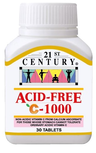 ACID FREE C 1000 mg for sensitive stomachs