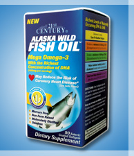 ALASKA WILD FISH OIL - OMEGA 3 ENTERIC COATED, odourless, 90s