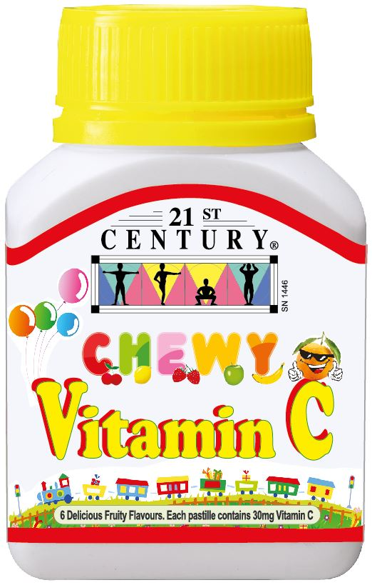 Chewy C (60 Gummies) Vitamin C for children's immune support