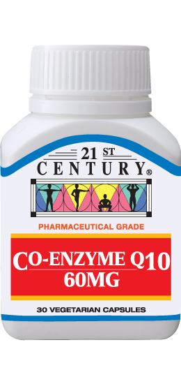 CO-ENZYME Q10, 60 MG, 30 capsules