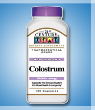 COLOSTRUM, for Elderly people & Children HK$95 120capsules