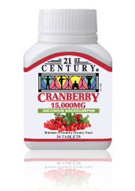 CRANBERRY 15,000 mg in each tablet