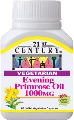 EVENING PRIMROSE OIL, 1000MG, 60 SOFTGELS