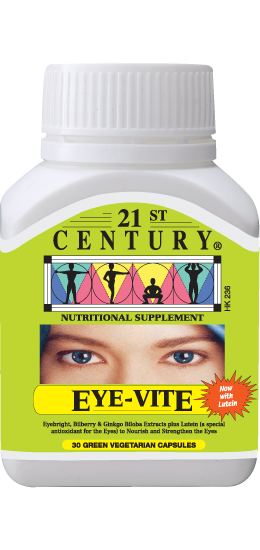 EYE-VITE, 4 ingredients to improve eye health HK$60 only
