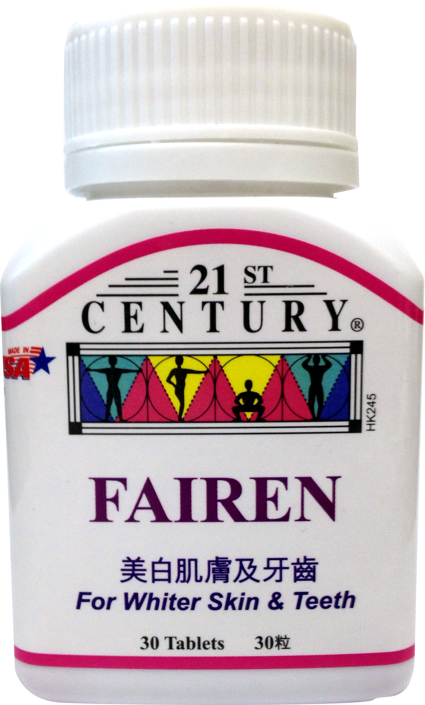 FAIREN TABLETS - Natural & Safe Skin & Teeth Whitening