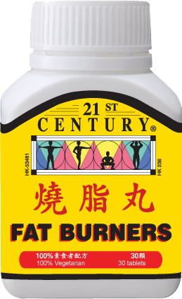 FAT BURNER TABLETS - increases calorie burning rate