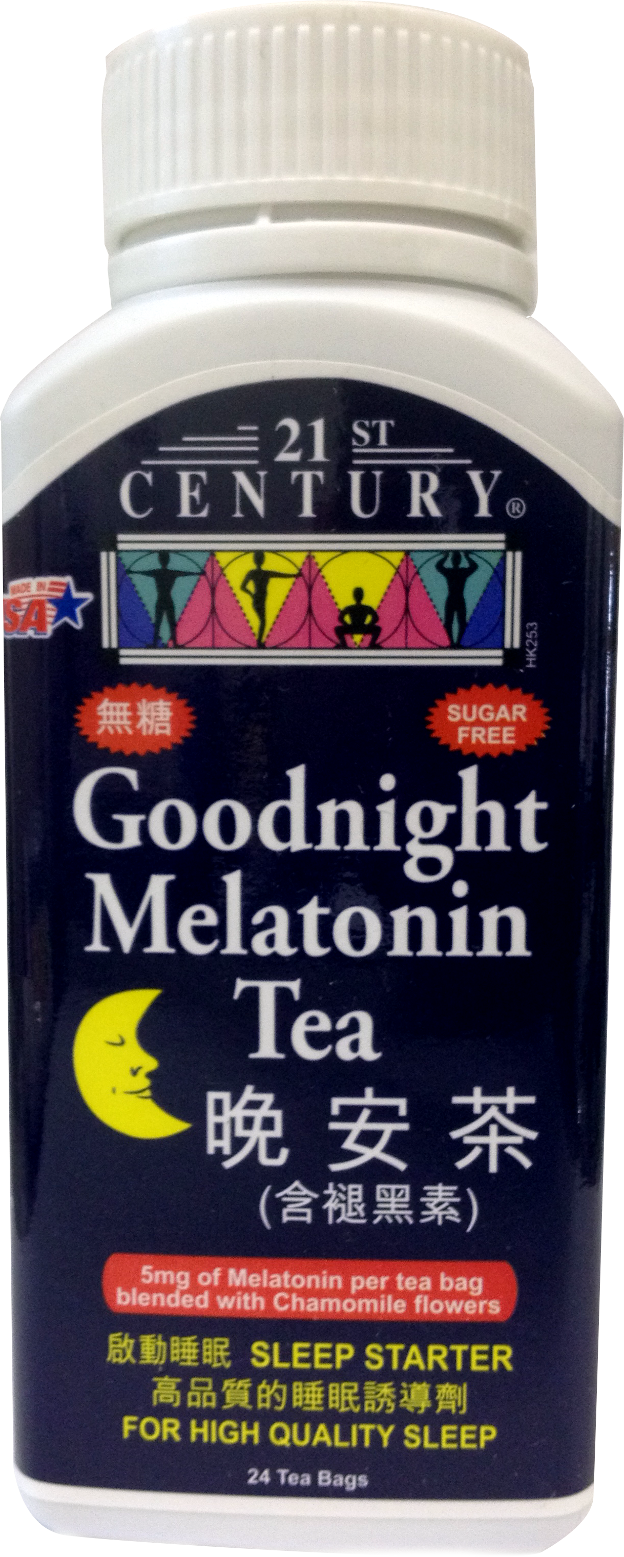 GoodNight Melatonin Tea with Chamomile, 24 tea bags