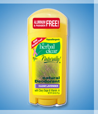 HERBAL CLEAR natural DEODORANT, WITHOUT ALUMINIUM, ROLL-ON HK$65