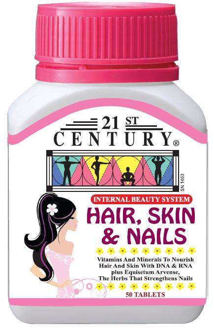 Hair, Skin & Nails (50's) Nutrients for Your hair, Skin & Nails