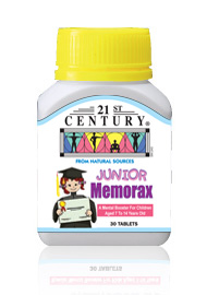 JUNIOR MEMORAX, vitamins & herbs to improve memory in kids, 30s