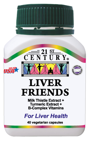 Liver Friends,Milk Thistle Extract,Turmeric Ext.+B-Complex