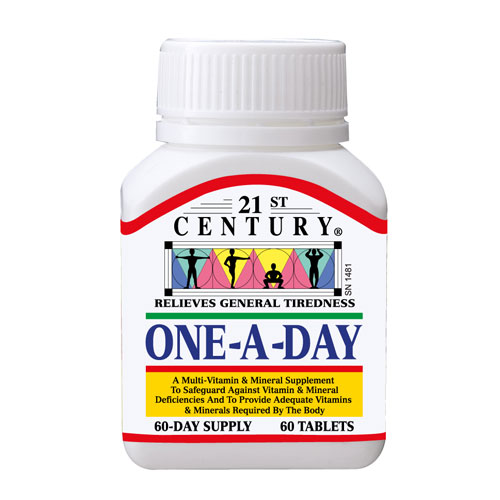 ONE A DAY, MultiVitamin & MultiMinerals for daily use
