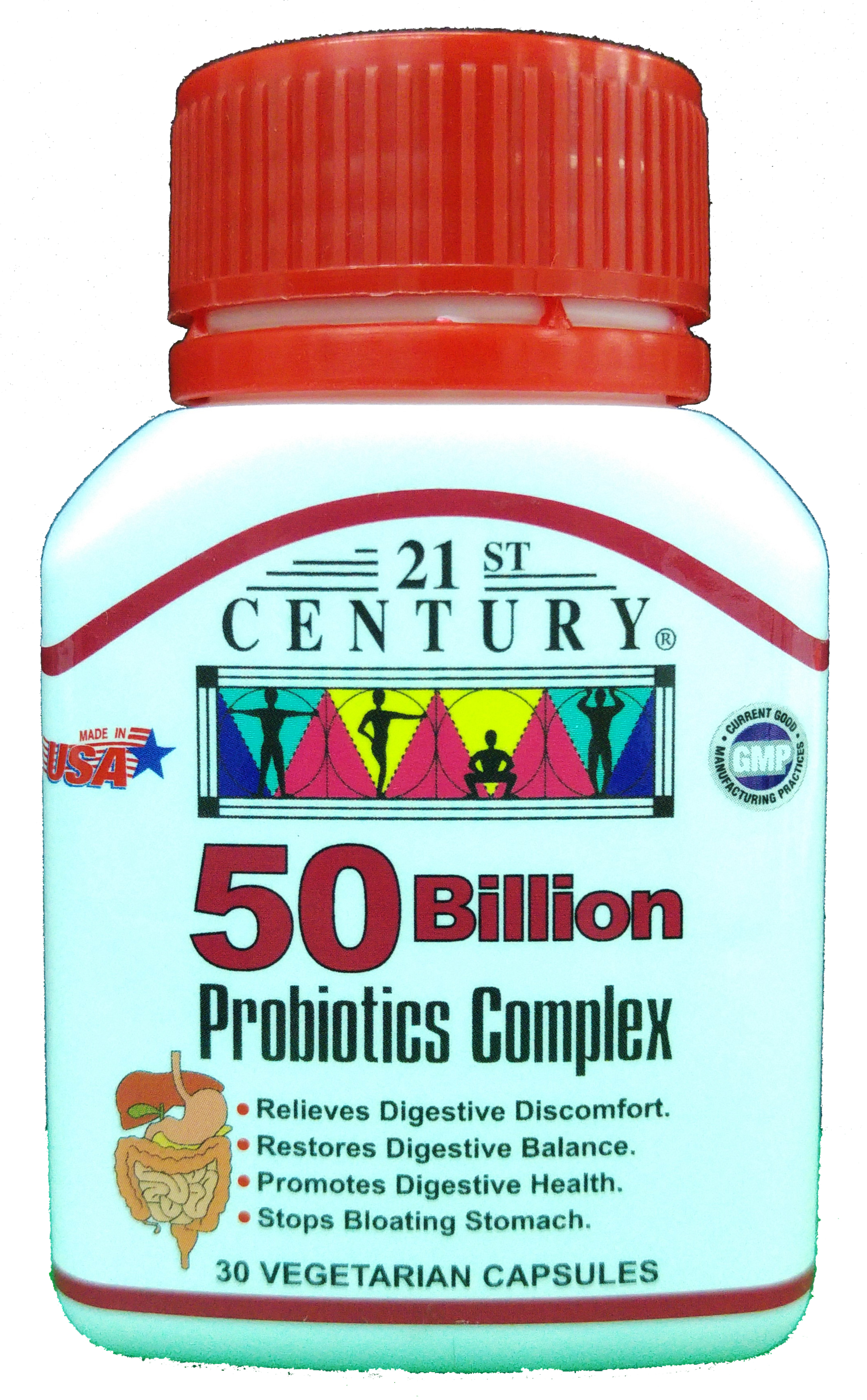 Probiotics Complex, 50 Billion CFUs per capsule