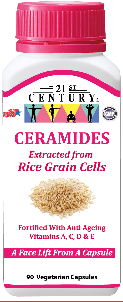 CERAMIDES FROM RICE CELLS, Face Lift from a Capsule, 90s