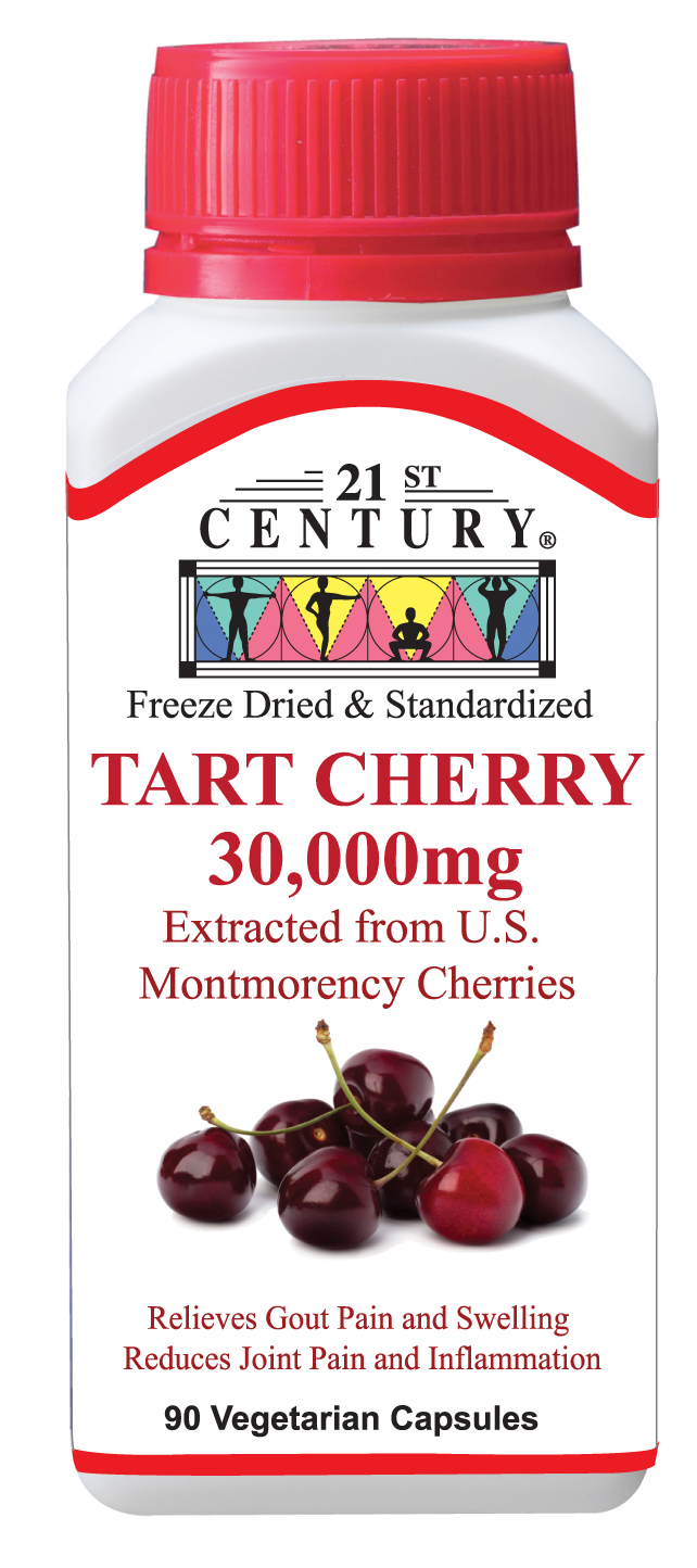 Tart Cherry Extract for Gout equal to 30,000mg Cherry Juice