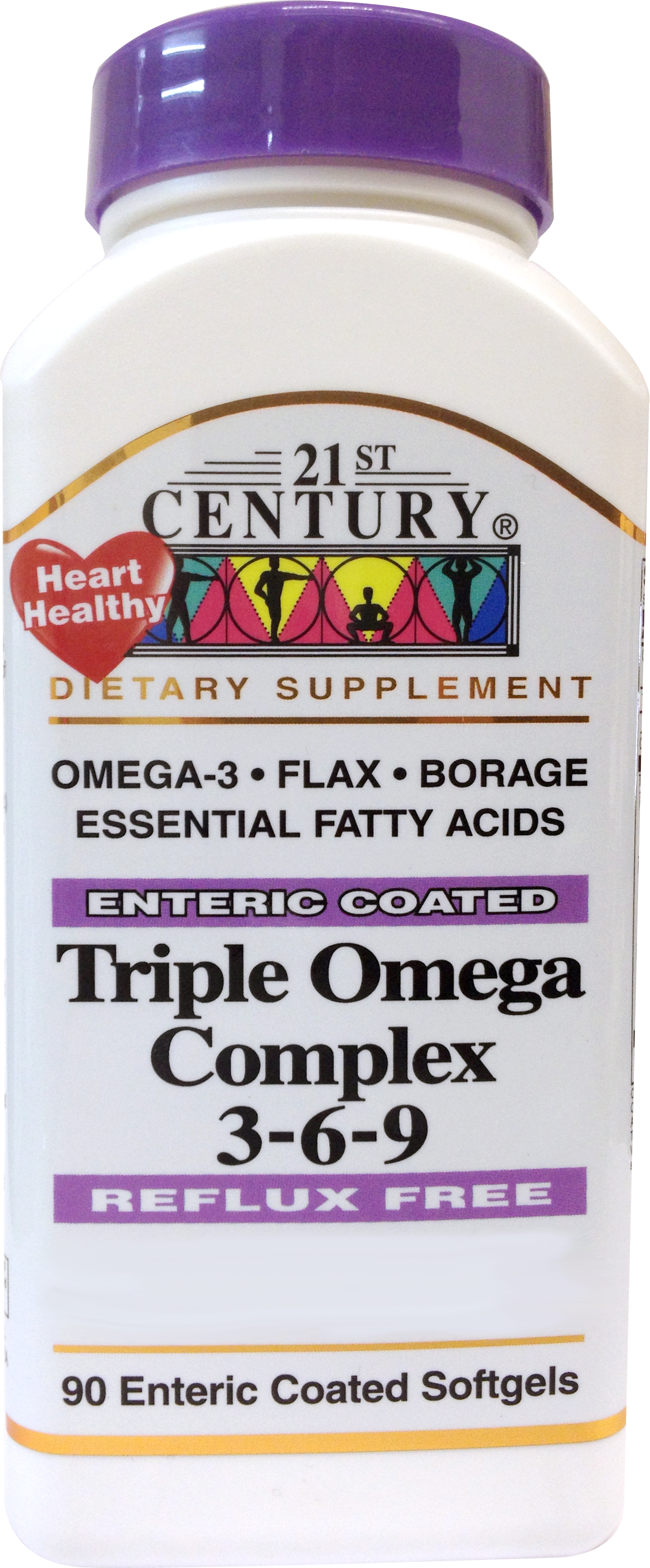 TRIPLE OMEGA 3,6,9 odourless, no burp HK$65