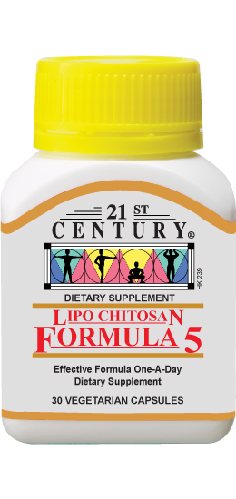 LIPO CHITOSAN FORMULA 5- 5 diet ingredients in one capsule