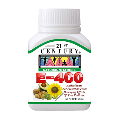 VITAMIN E 400 softgels