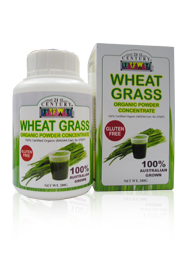WHEAT GRASS POWDER, Concentrate, 200 grams